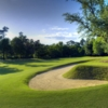 View of the 1st green at The Oaks Golf Club